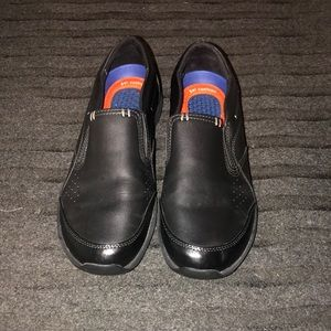 Non slip resistant slip on dr. Scholl's work shoes